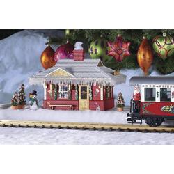 Piko G 62265G Weihnachts-Bahnhof Fertigmodell