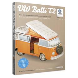 Papier-Wohnmobil VW Bulli T2
