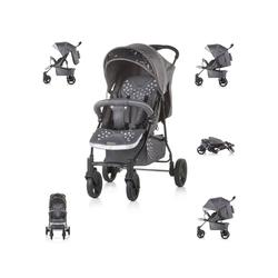 Chipolino Kinder-Buggy Chipolino Kinderwagen Buggy Mixie, klappbar, schwenkbare Vorderräder, Sonnendach grau