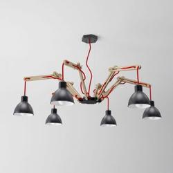 Moderne Hängeleuchte SPIDER im Industriedesign