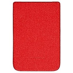 PocketBook Cover Shell für Touch HD 3  Touch Lux 4  Basic Lux 2  red