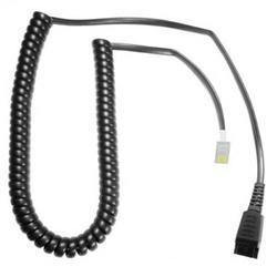 Imtradex AK-1 PS PLX-QD Telefon-Headset-Kabel Schwarz