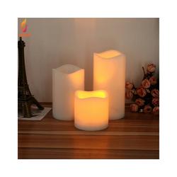 Gotui LED-Kerze LED Kerzenlicht, Wachs LED,Wohnkultur,13*7.5CM