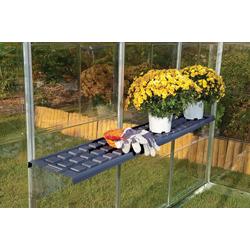 Palram Hängeregal Twin Shelf Kit, Set, BxT: 126x30 cm, für Gewächshaus Harmony