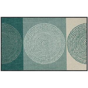 Fußmatte Salonloewe Nestor sage-beige Fußmatte waschbar 075 x 120 cm, Salonloewe