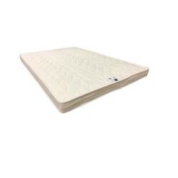 Matelas Ferme - 4 cm de Memoire de Forme 70 Kg/m3 Pour Canape Lit + Alese 140x190 x 16 cm - 5 zones