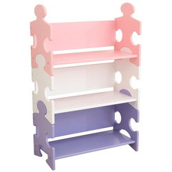 KidKraft® Bücherregal Puzzle - Pastell