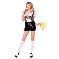 Leg Avenue Oktoberfest-Hosen mit Stickerei, 2 Teile