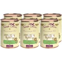 Terra Canis Rind mit Karotte, Apfel & Naturreis Classic 6 x 400 g