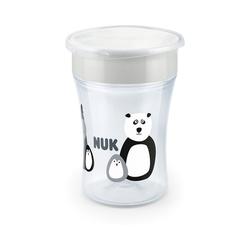 NUK Trinklernbecher Trinkbecher Magic Cup, 230 ml, PP, Monochrome blau