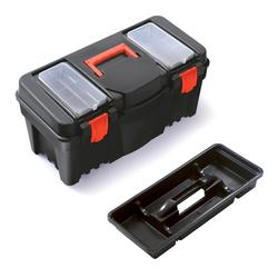 BigDean Werkzeugkoffer Werkzeugkiste Werkzeugkasten Werkzeugbox aus Kunststoff 55 x 26,7 x 27 cm