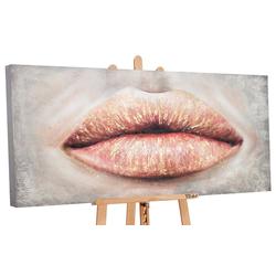 YS-Art Gemälde Kussmund PS096