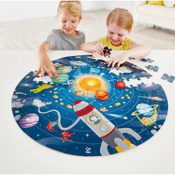 Hape Puzzle Sonnensystem, 102 Puzzleteile, mit Licht