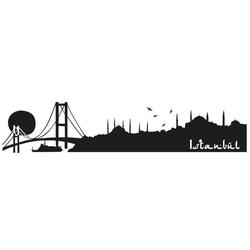 Wall-Art Wandtattoo XXL Stadt Skyline Istanbul 120cm (1 Stück)