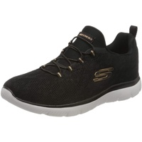 SKECHERS Summits Slip-On Sneaker mit Memory Foam schwarz 41