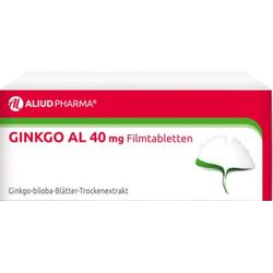 Ginkgo AL 40mg