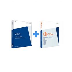 Visio 2013 Professional + Office 2013 Professional Plus (Bundle)
