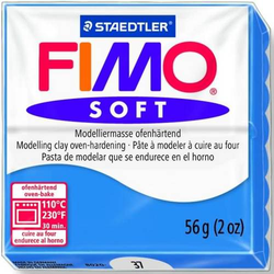 Modelliermasse Fimo soft 56g pazifikblau