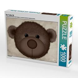 Der Teddy CB Lege-Größe 64 x 48 cm Foto-Puzzle Bild von Digital-Art Puzzle