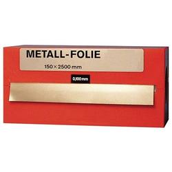 Metallfolie D.0,150mm MS MS63 L.2500mm B.150mm