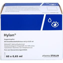 HYLAN 0,65 ml Augentropfen 60 St.