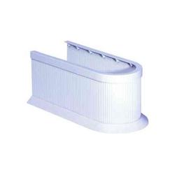 Siphonabdeckung, 413606-0 weiß weiß