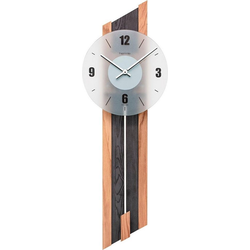Home affaire Pendelwanduhr Hermle (Made in Germany) natur
