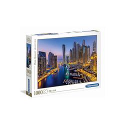 Clementoni® Puzzle Clementoni - Dubai, 1000 Teil Puzzle, 1000 Puzzleteile