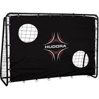 Hudora Fußballtor Freekick mit Torwand, Fußball-Tor Garten - 76922