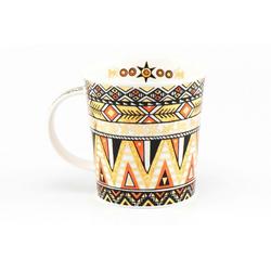 Dunoon Becher, Fine Bone China, Dunoon Becher Teetasse Kaffeetasse Lomond Afrika Affen