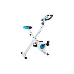 Capital Sports Fahrradtrainer Azura M1 Fahrrad-Heimtrainer klappbar Pulsmesser 100kg 45 cm x 85 cm x 114 cm