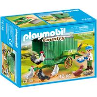 Playmobil Country Mobiles Hühnerhaus (70138)