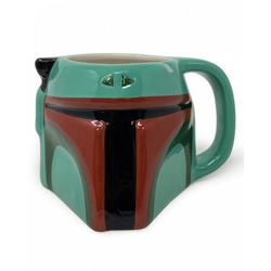 Horror-Shop Geschirr-Set Boba Fett 3D Tasse aus Star Wars, Keramik