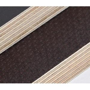 15mm Multiplex Zuschnitt Siebdruckplatten Multiplexplatten Zuschnitte Melaminbeschichtet Birke Bodenplatte Holz Braun Grau (Breite 40 cm, Länge 40 cm)