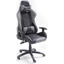 MC Racing 6 Gaming Chair schwarz/grau