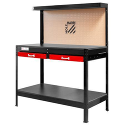 Holzmann Werkbank WT06 sehr einfacher Zusammenbau dank Stecksystem