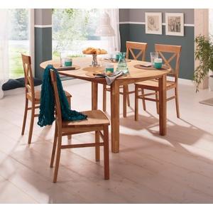 Home affaire Esstisch »Time«, beige, Auszugsplatte, FSC®-zertifiziert