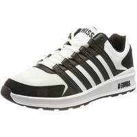 K-Swiss Vista Trainer Sneaker, White/Black, 41.5