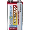 energy Extreme Power 6LR61 9V Block-Batterie Alkali-Mangan 9V 1St.