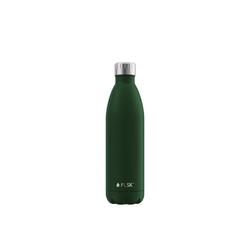FLSK Isolierflasche, FLSK Trinkflasche Isolierflasche Edelstahl 750ml Doppelwandig Thermoflasche grün