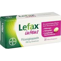 BAYER LEFAX intens Flüssigkapseln 250 mg Simeticon