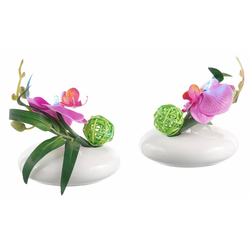 Kunstpflanze LED-Orchidee Orchidee, Höhe 12 cm