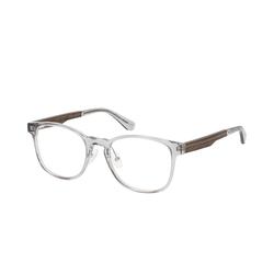 WOOD FELLAS Friedenfels 10975 6289, inkl. Gläser, Quadratische Brille, Damen