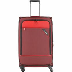 Travelite Derby 4-Rollen Trolley L 77 cm rot