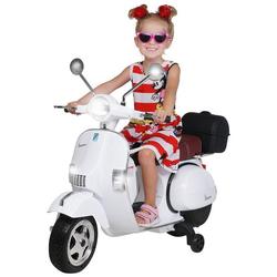 Actionbikes Motors Elektro-Kinderroller Kinder Elektroroller Piaggio Vespa PX150, Belastbarkeit 35 kg, Roller - Motorrad - bis 35kg belastbar weiß