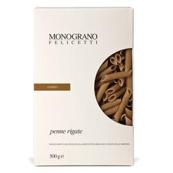 Monograno Felicetti Dinkel Penne Farro aus Italien - Penne Nudeln aus Dinkelm...