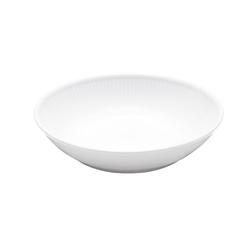 Pillivuyt Plissé Salat/Nudelteller 20 cm Weiß