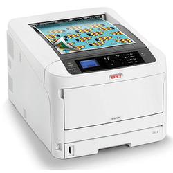 OKI C844dnw Farb-Laserdrucker grau