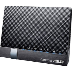 Asus DSL-AC56U WLAN Router mit Modem Integriertes Modem: VDSL, ADSL2+, ADSL 2.4GHz, 5GHz 1.2 GBit/s