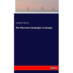 The Mountain Campaigns in Georgia